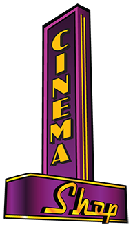 CinemaShop marquee logo