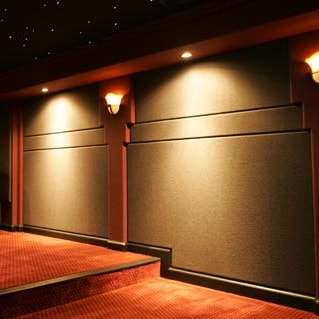 fabric acoustic wall system